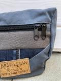 Bauchtasche / Gürteltasche / Hüfttasche / Umhängetasche /Cross-Over Tasche | Upcycling / Recycling Tasche