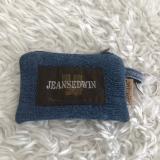 Kleines Mäppchen aus Jeans Upcycling, Schlüsselmäppchen, Portemonnaie, Leckerlitasche oder Kotbeutelspender