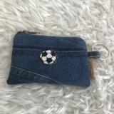 Mäppchen aus Jeans Upcycling, Recycling aus Jeans für Schlüssel oder Geld, kleines Portemonnaie aus Jeans, Hunde Leckerli oder Kotbeutel