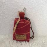 Upcycling Kindertasche aus rosa Babycord, Umhängetasche Mädchen (Variante Bärchen)